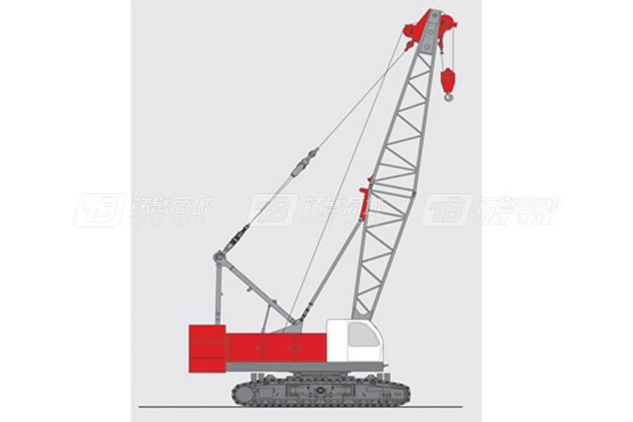抚挖重工QUY90液压履带式起重机
