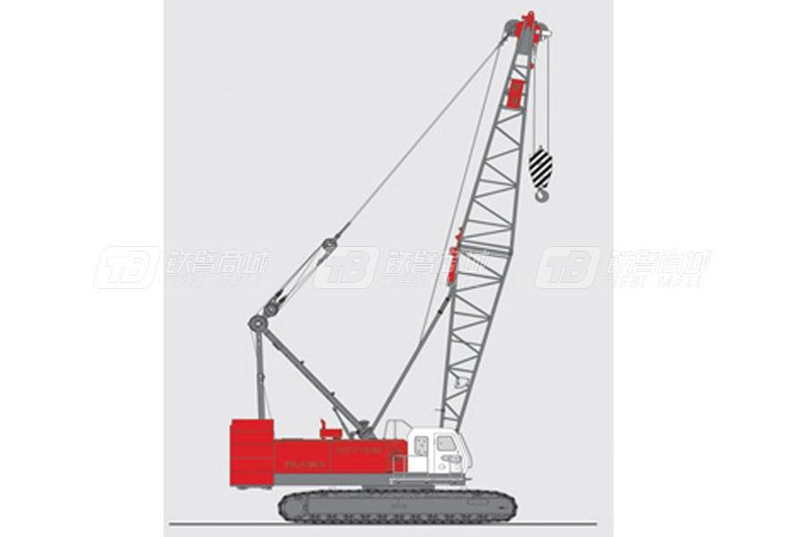 抚挖重工QUY100A履带式起重机