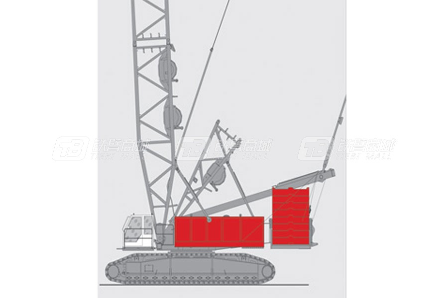 抚挖重工QUY500液压履带式起重机