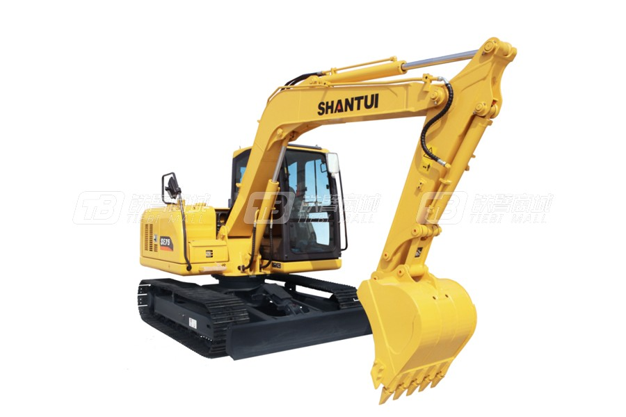 山重建机SHANTUISE75-9(标配版)履带挖掘机