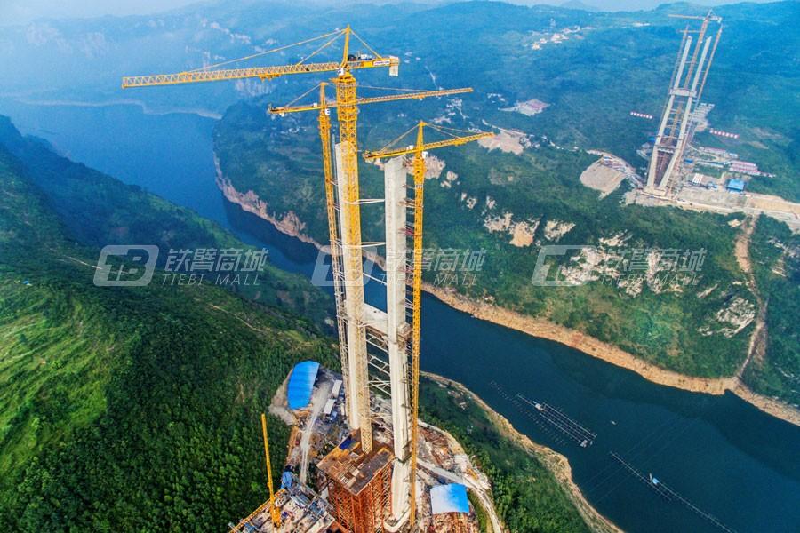 中联重科D1400-84超大型锤头塔式起重机