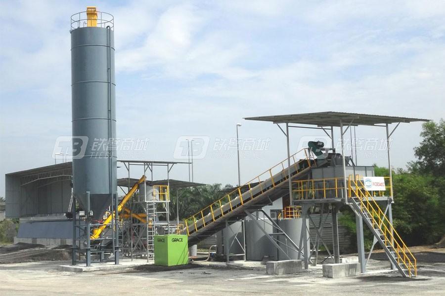 陆德筑机WCBD400C稳定土厂拌设备