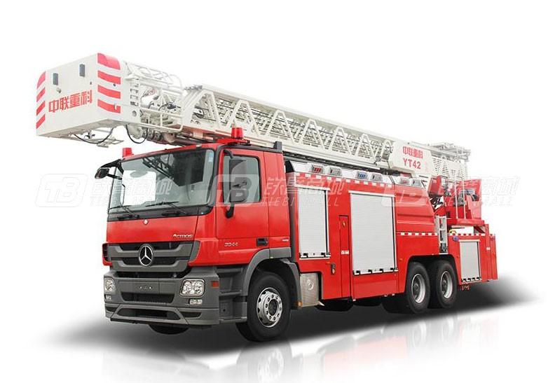 中联重科ZLF5320JXFYT42云梯消防车
