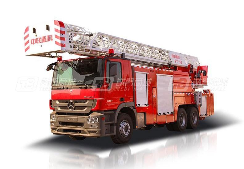 中联重科ZLF5300JXFYT32云梯消防车