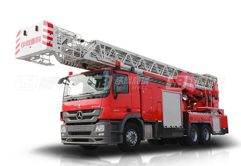 中联重科ZLF5321JXFYT53云梯消防车