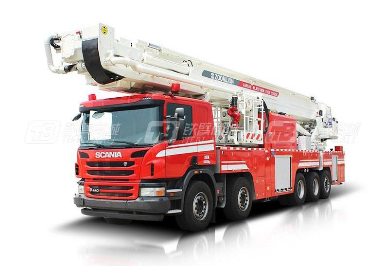 中联重科ZLF5500JXFDG70登高平台消防车