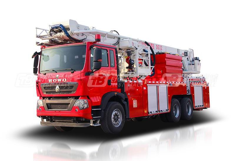 中联重科ZLF5311JXFDG32登高平台消防车
