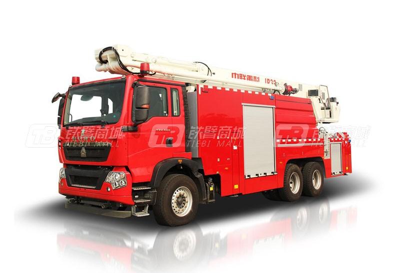 中联重科ZLF5313JXFJP25举高喷射消防