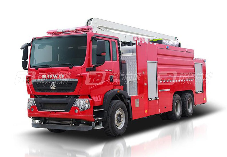 中联重科ZLF5311JXFJP18举高喷射消防