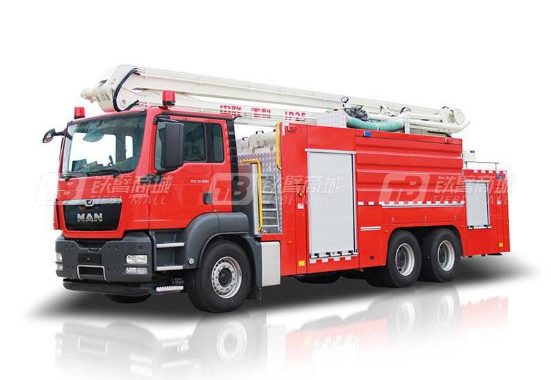 中联重科ZLF5315JXFJP25举高喷射消防