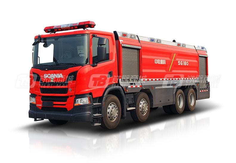 中联重科ZLF5360GXFPM180泡沫/水罐消防车