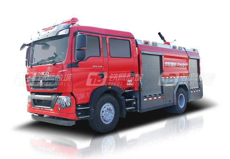 中联重科ZLF5190GXFPM80泡沫/水罐消防车