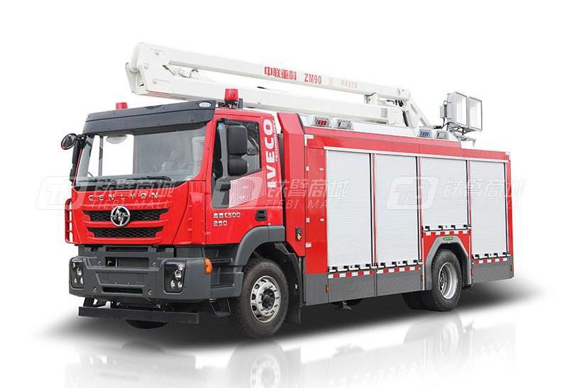 中联重科ZLF5141TXFZM90照明消防车