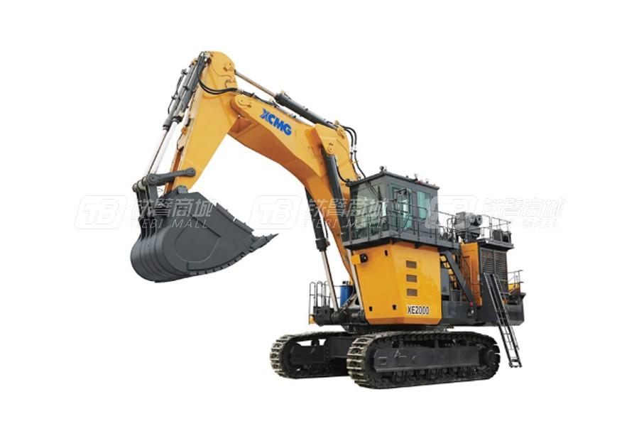 徐工XE2000矿用挖掘机外观图