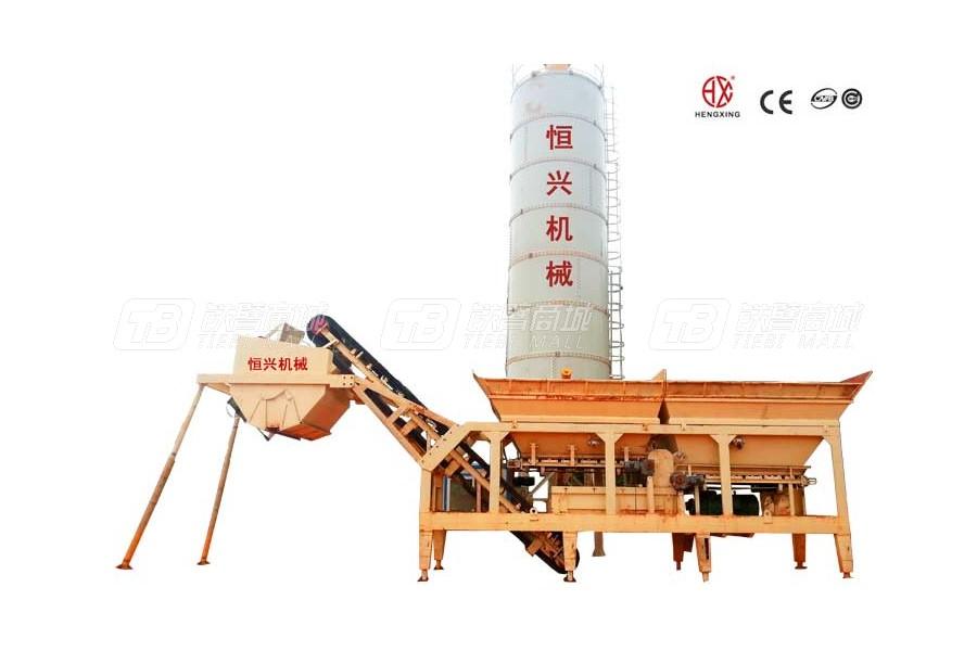 恒兴机械DWBS300模块式稳定土厂拌设备