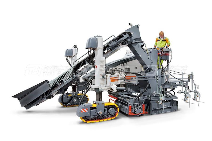 维特根SP 15滑模摊铺机