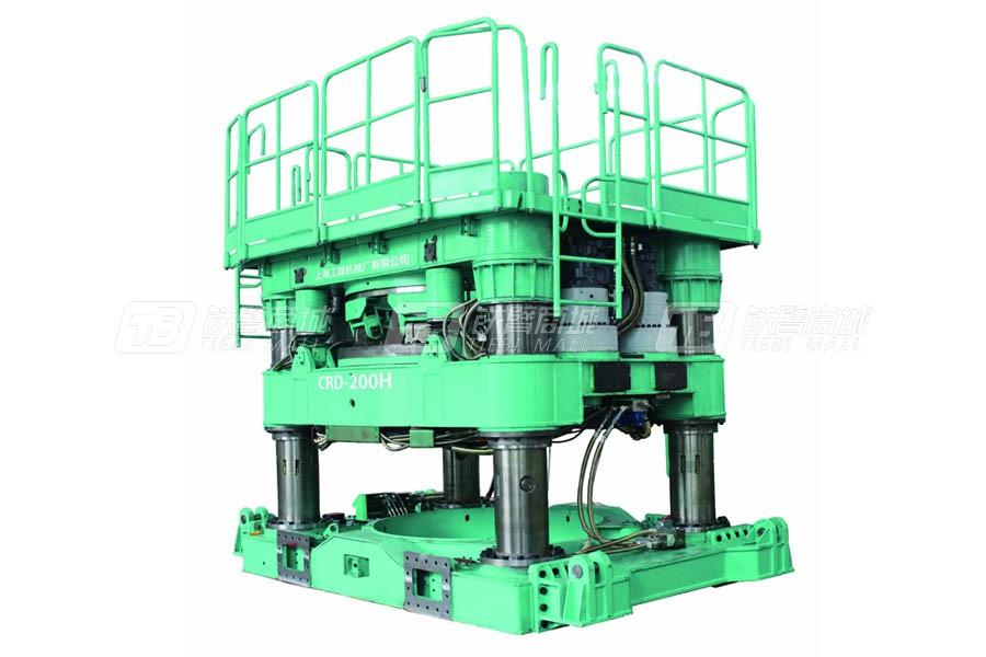 上工机械CRD-200H全套管钻机