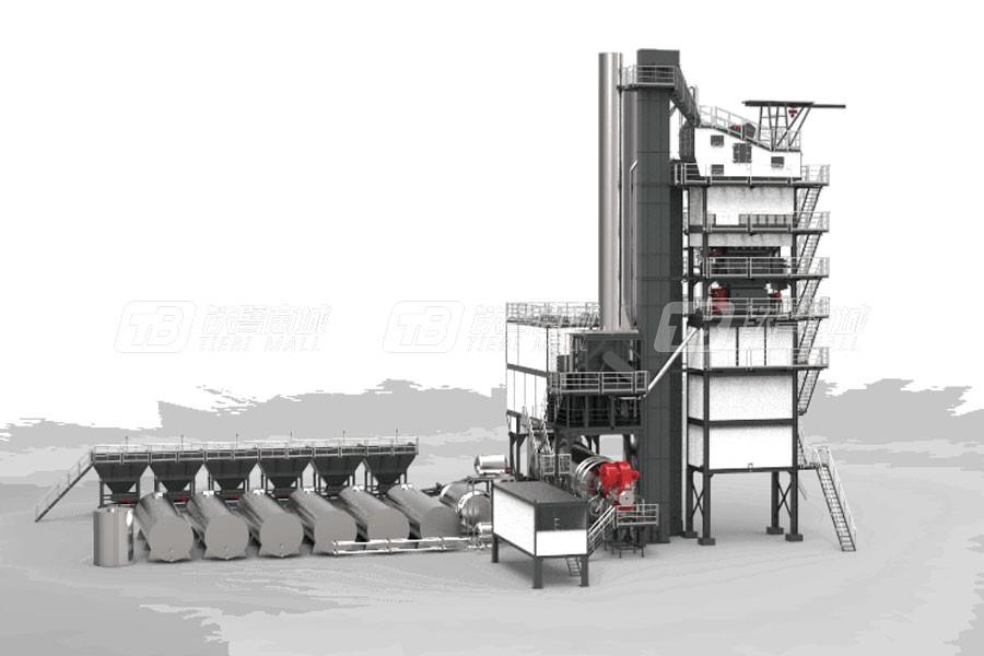 铁拓(G/P)LB2000成品仓底置沥青混合料搅拌设备