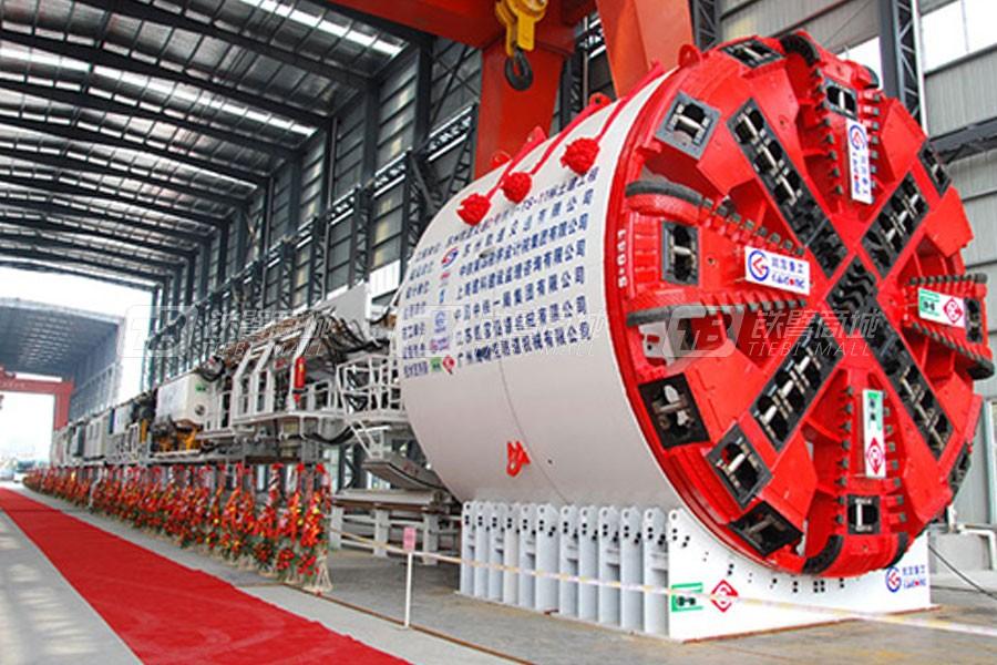 徐工φ6.39米复合式土压平衡盾构机