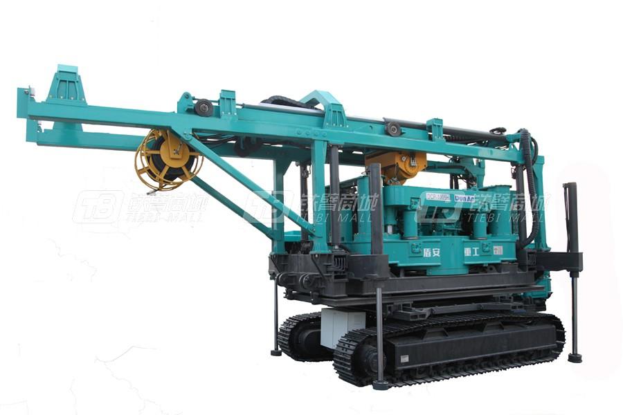 盾安重工DCP1005H低净空全套管全回转钻机
