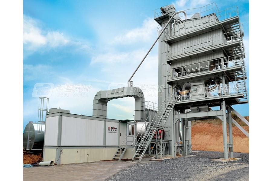 东南机械LBW1000LBD成品料仓底置式沥青搅拌设备