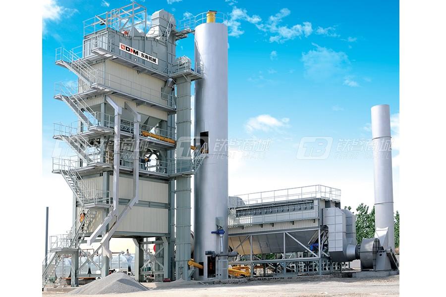 东南机械LBX3000LBD成品料仓底置式沥青搅拌设备