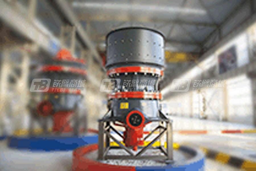 上海西芝HST系列单缸液压圆锥破碎机