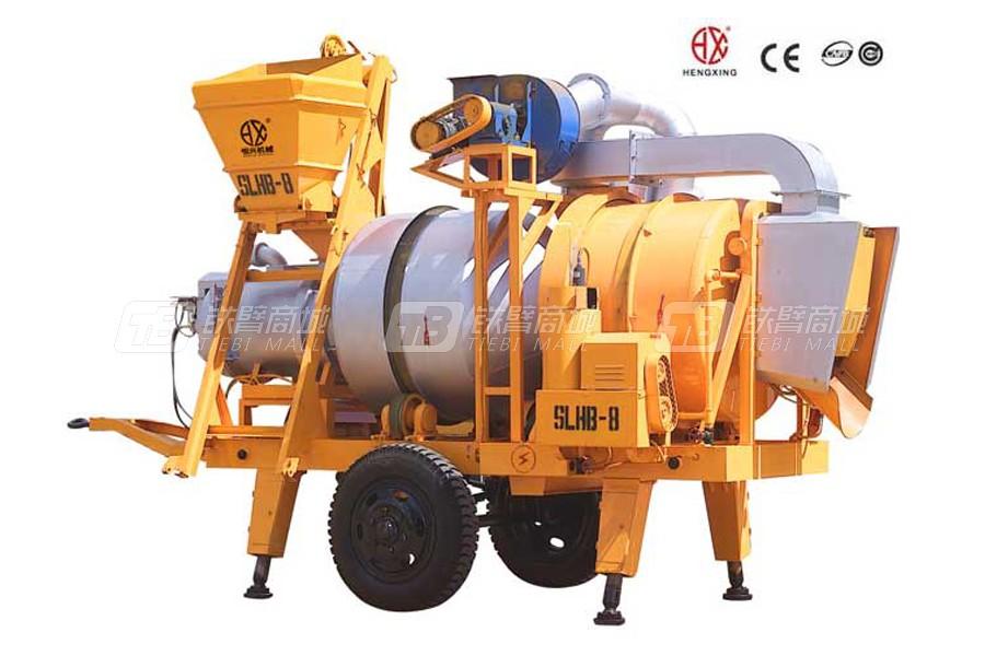 恒兴机械SLHB(m-8)移动双滚筒间歇式沥青混合料拌和机