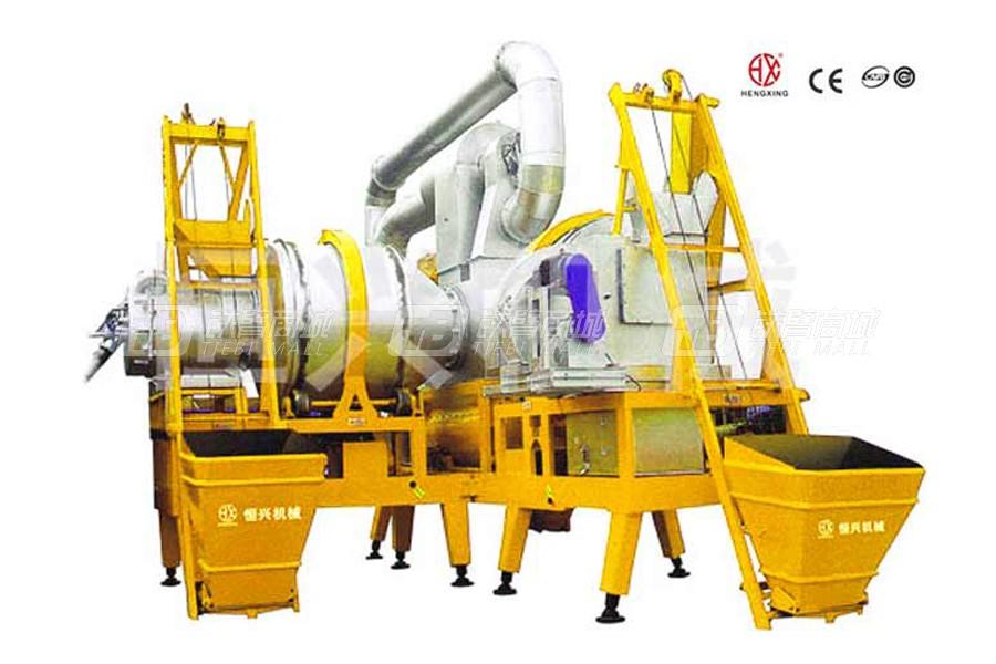 恒兴机械RQLZB-20-10移动式沥青混合料再生搅拌设备