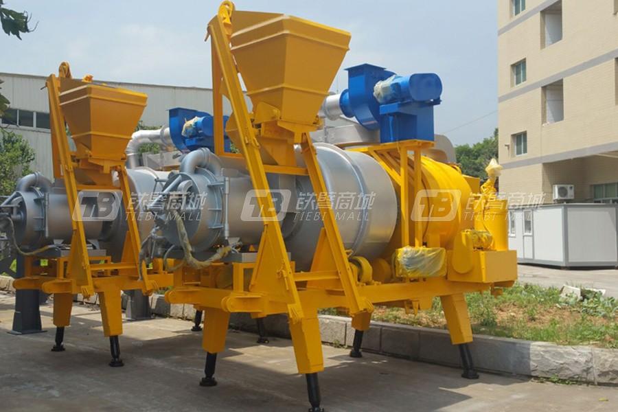 泉成QCS-20移动式沥青搅拌设备