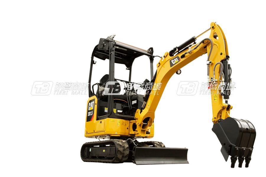 卡特彼勒新一代CAT<sup>®</sup>301.5迷你型挖掘机