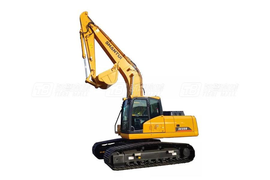 山推挖掘机SE220(出口车型)履带挖掘机