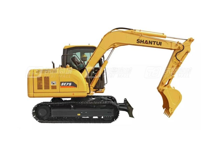山推挖掘机SE75-9A(国产化配置版)履带挖掘机