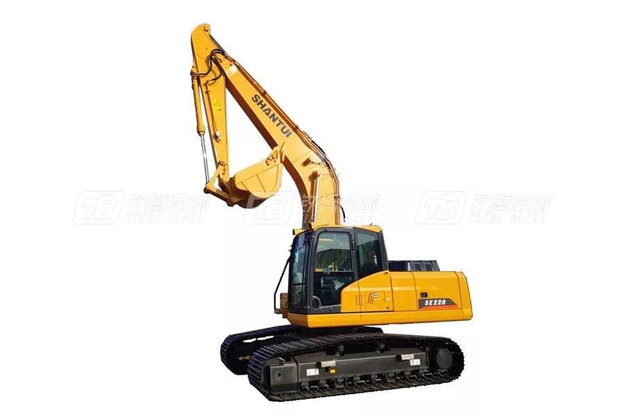 山推SE220(出口车型)履带挖掘机