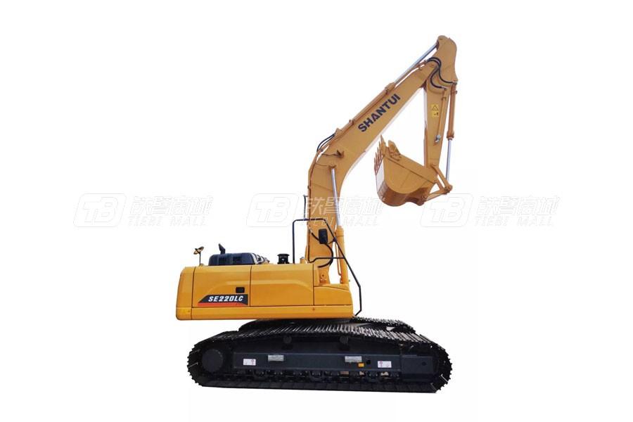 山推SE220LC(出口用车)履带挖掘机