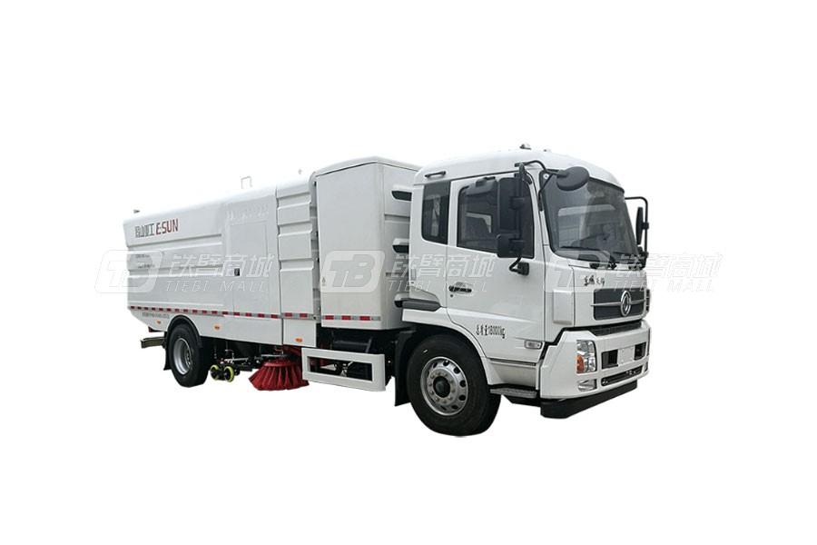 易山ESN5180TXSBEV纯电动洗扫车