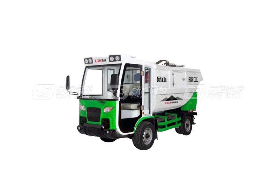 易山ESN H91后挂式垃圾收集车