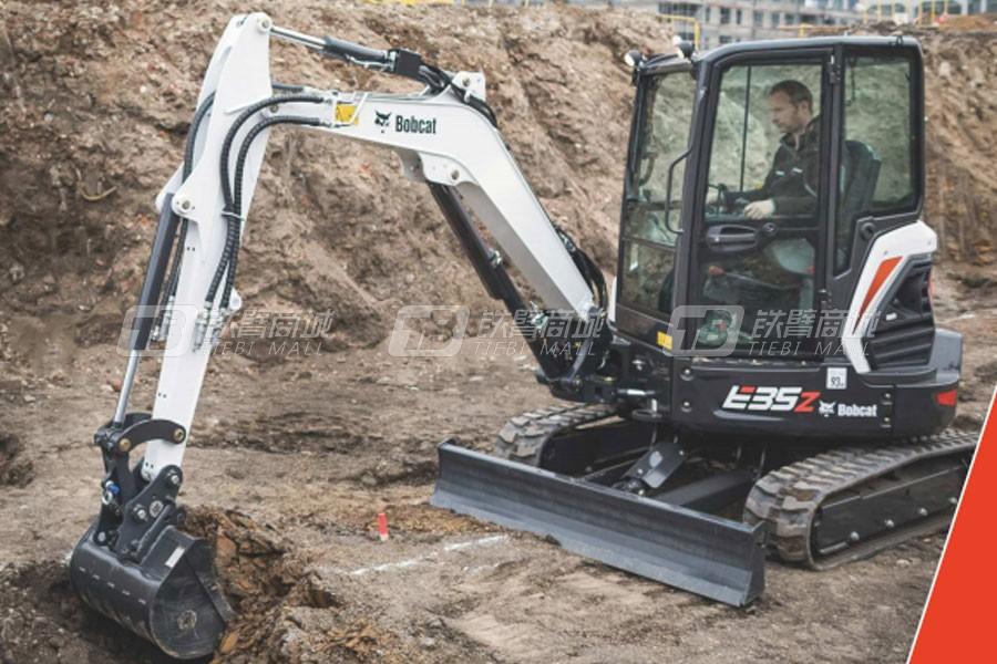 山猫E35z履带挖掘机