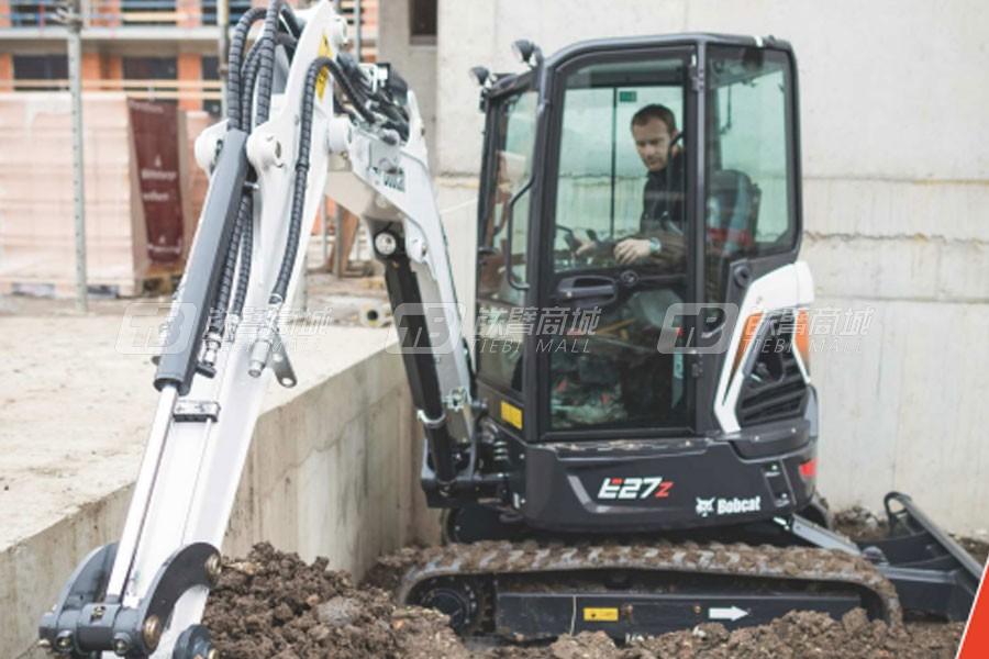山猫E27z履带挖掘机