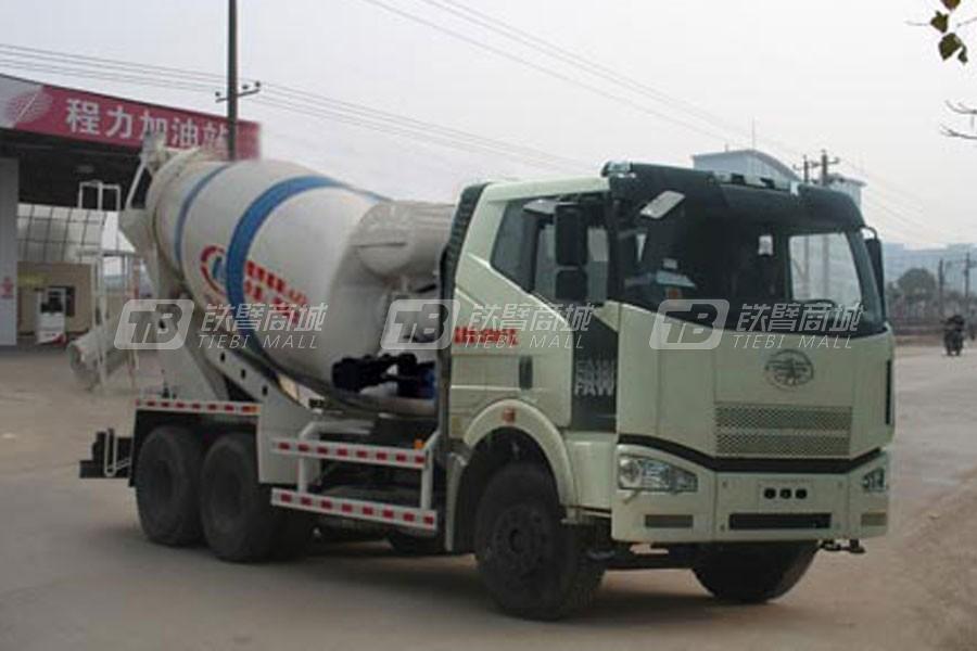 湖北合力CLW5250GJBC4程力威牌混凝土搅拌运输车