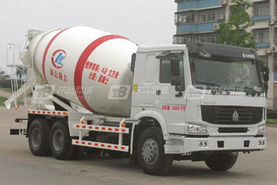 湖北合力CLW5250GJBZ4程力威牌混凝土搅拌运输车