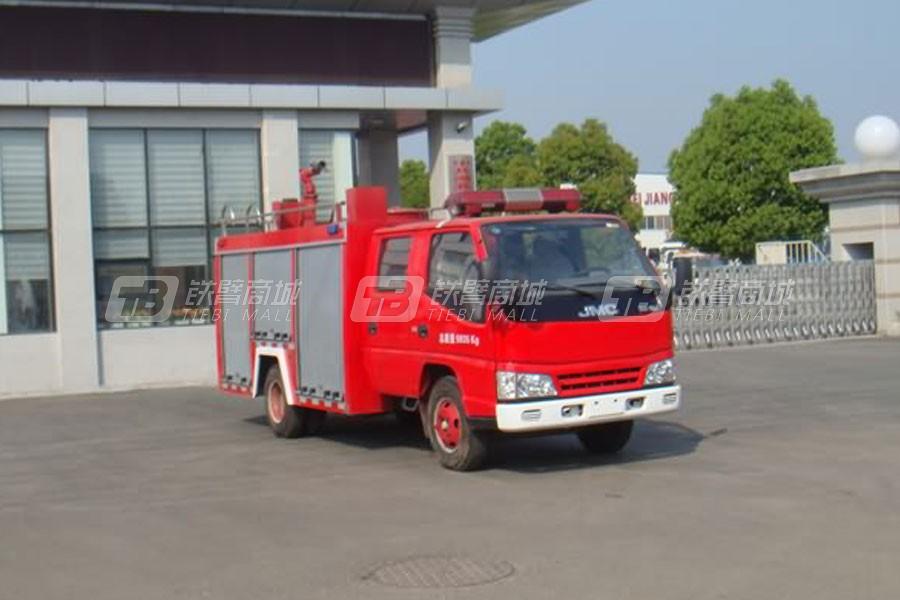 湖北合力JDF5064GXFSG20B江特牌水罐消防车