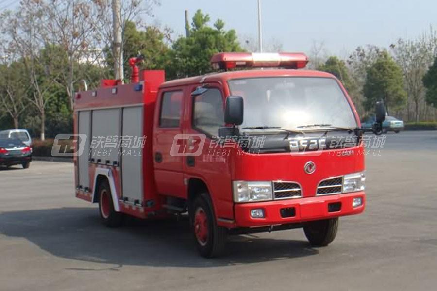 湖北合力JDF5071GXFSG20A江特牌水罐消防车