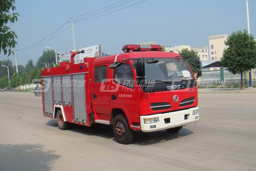 湖北合力JDF5081GXFSG25江特牌水罐消防车