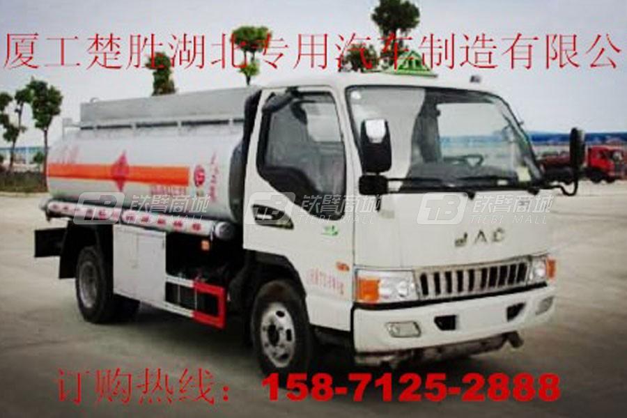 厦工楚胜国五江淮5吨加油车
