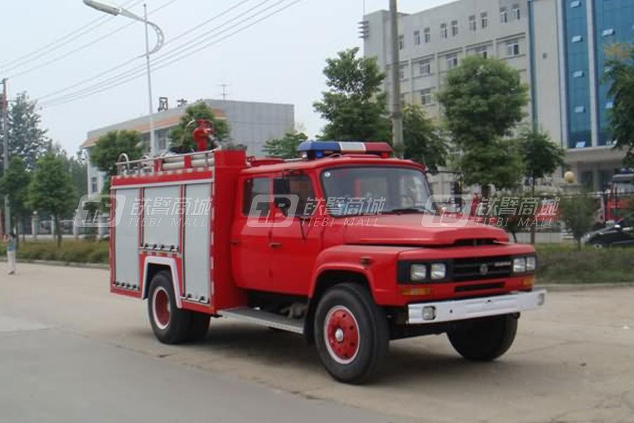厦工楚胜东风140水罐(泡沫)消防车