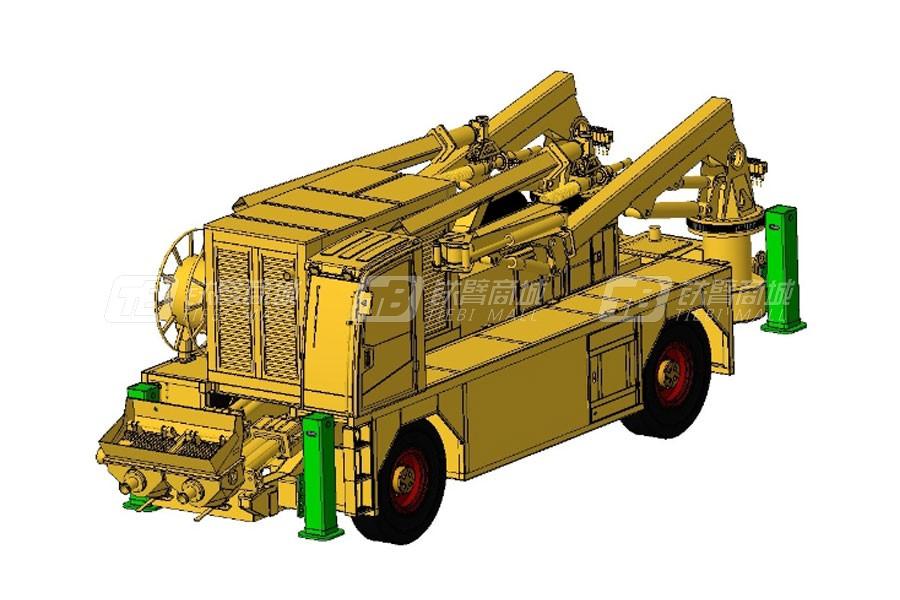 铁建重工HPS5016两臂混凝土湿喷机
