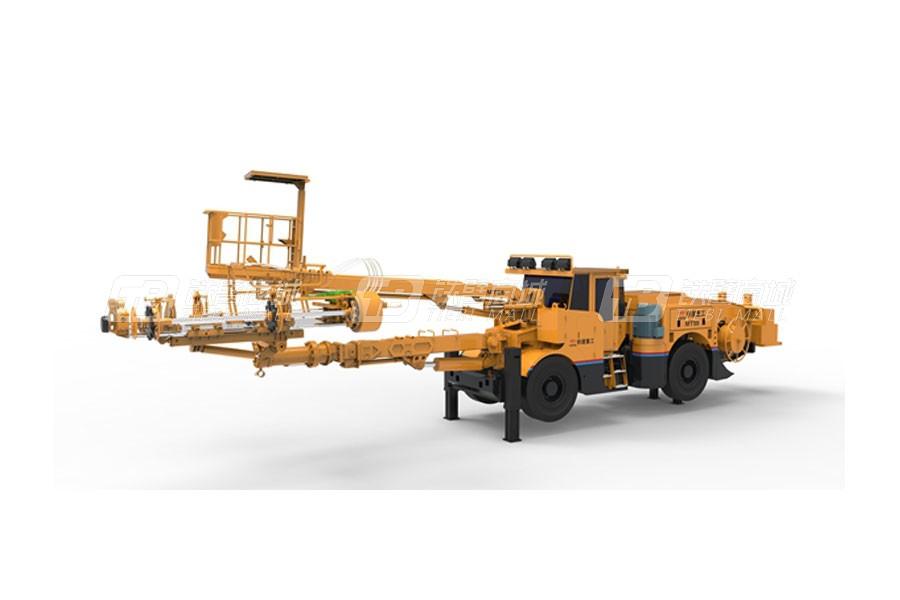 铁建重工MT55轮胎式锚杆台车