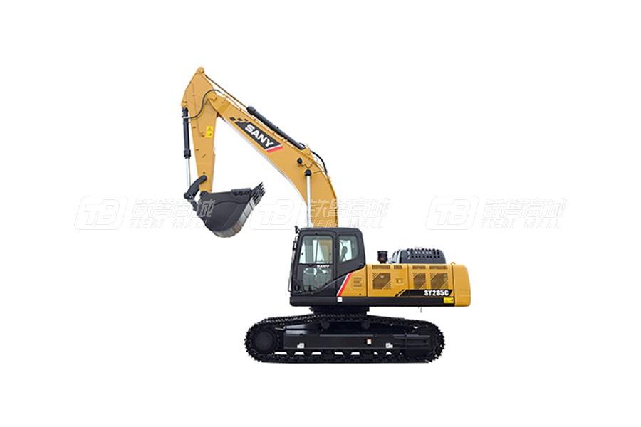 三一SY285C履带挖掘机