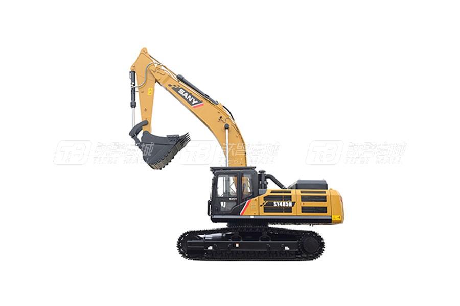 三一SY485H大型挖掘机